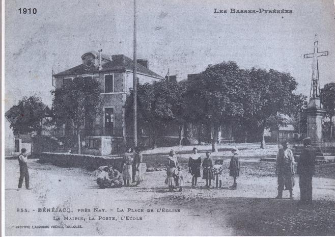 ancien1-1910-anciene ecole-poste-actuelle mairie